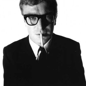 Michael Caine par David Bailey