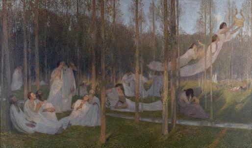 Serenite Henri Martin 1899