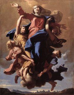 Assomption de la Vierge - Nicolas Poussin