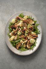 203 Salade de pommes de terre au poulpe